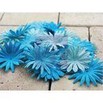 fleurs Prima turquoise