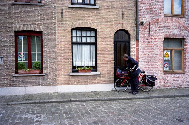 Bruges, le facteur, août 2007