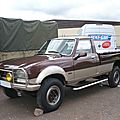 PEUGEOT 504 pick-up Dangel 4x4 Soultzmatt (1)