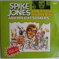Spike jones & his city slickers, can't stop murdering, 2xlp, rca, 1974