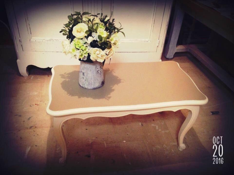 petite table de salon et table d appoint shabby chic campagne