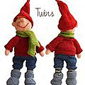 Wacek the gnome - twins