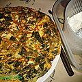 Omelette aux blettes et à la ricotta