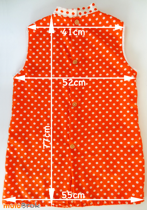 BLOUSE-orange-à-pois-02-muluBrok