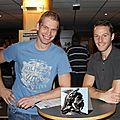 Dieter SOUVERYNS (2010-2012) N2 Finals 2011-Best scorer 2011-2012 & Martijn HENDRIX (2011-2012)