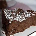 Moelleux au chocolat et ricotta (sans beurre)