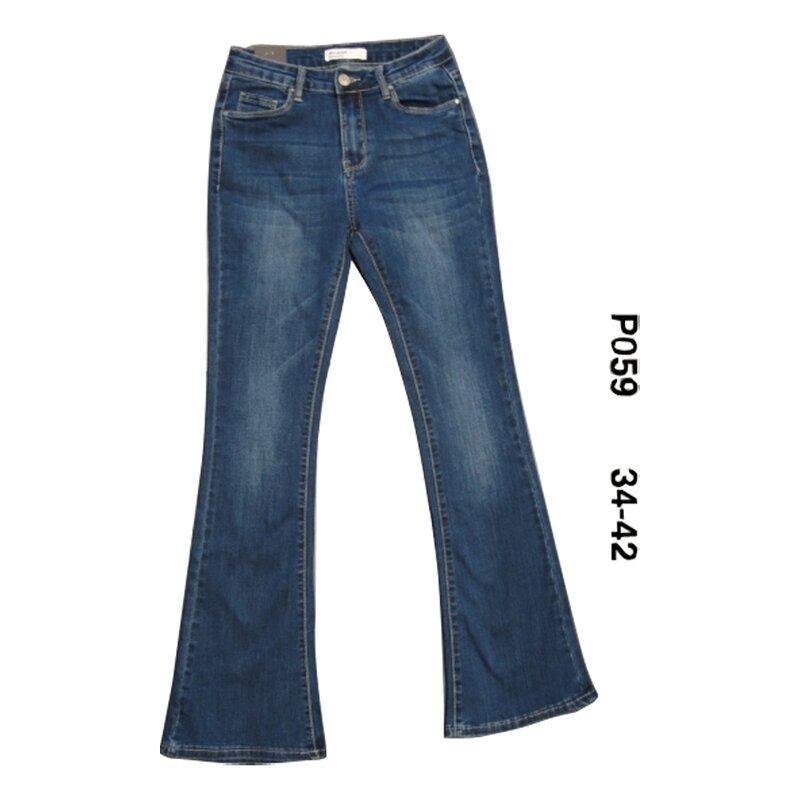 pantalon jean evasé