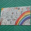 Projet école Crevin : fresque.