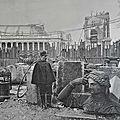 Destruction du Palais de l'industrie en 1899