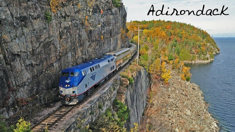 Amtrak Lake Champlain