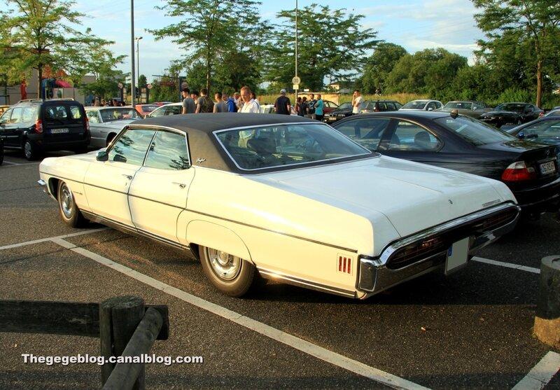 Pontiac Bonneville de 1970 (Rencard Burger King juin 2017) 02