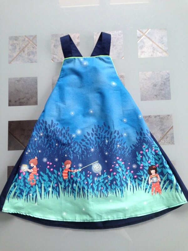 Robe chasuble (taille 5 ans)