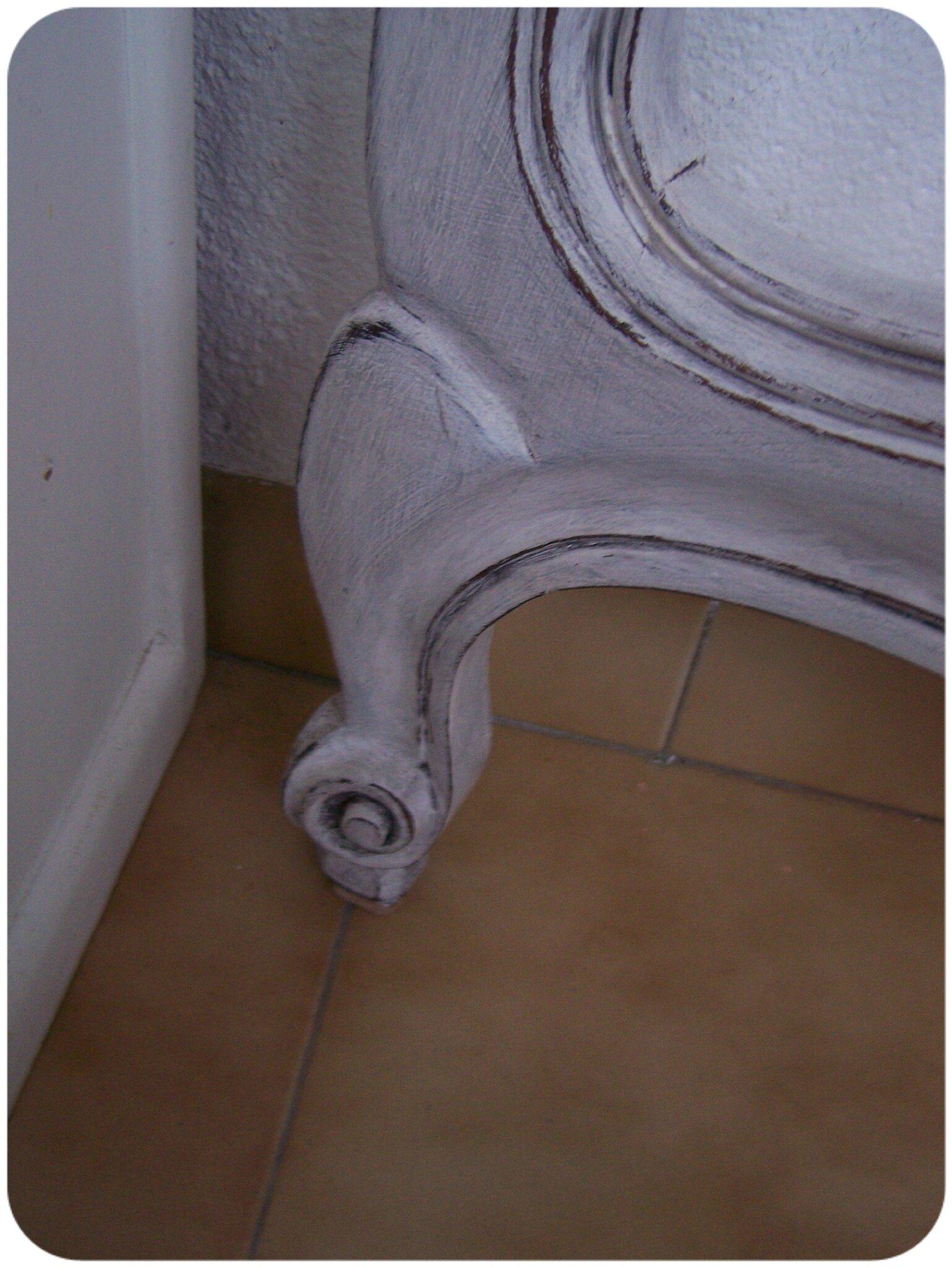 lit patiné detail1