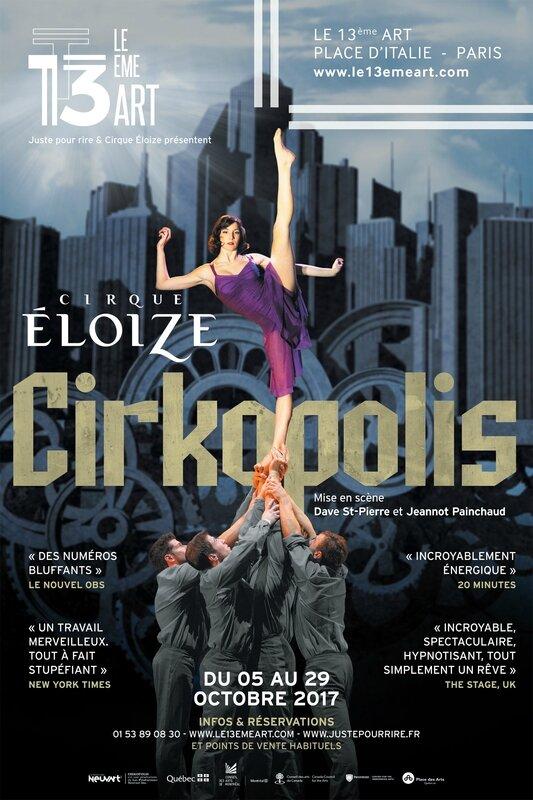 CIRKOPOLIS du Cirque Eloize