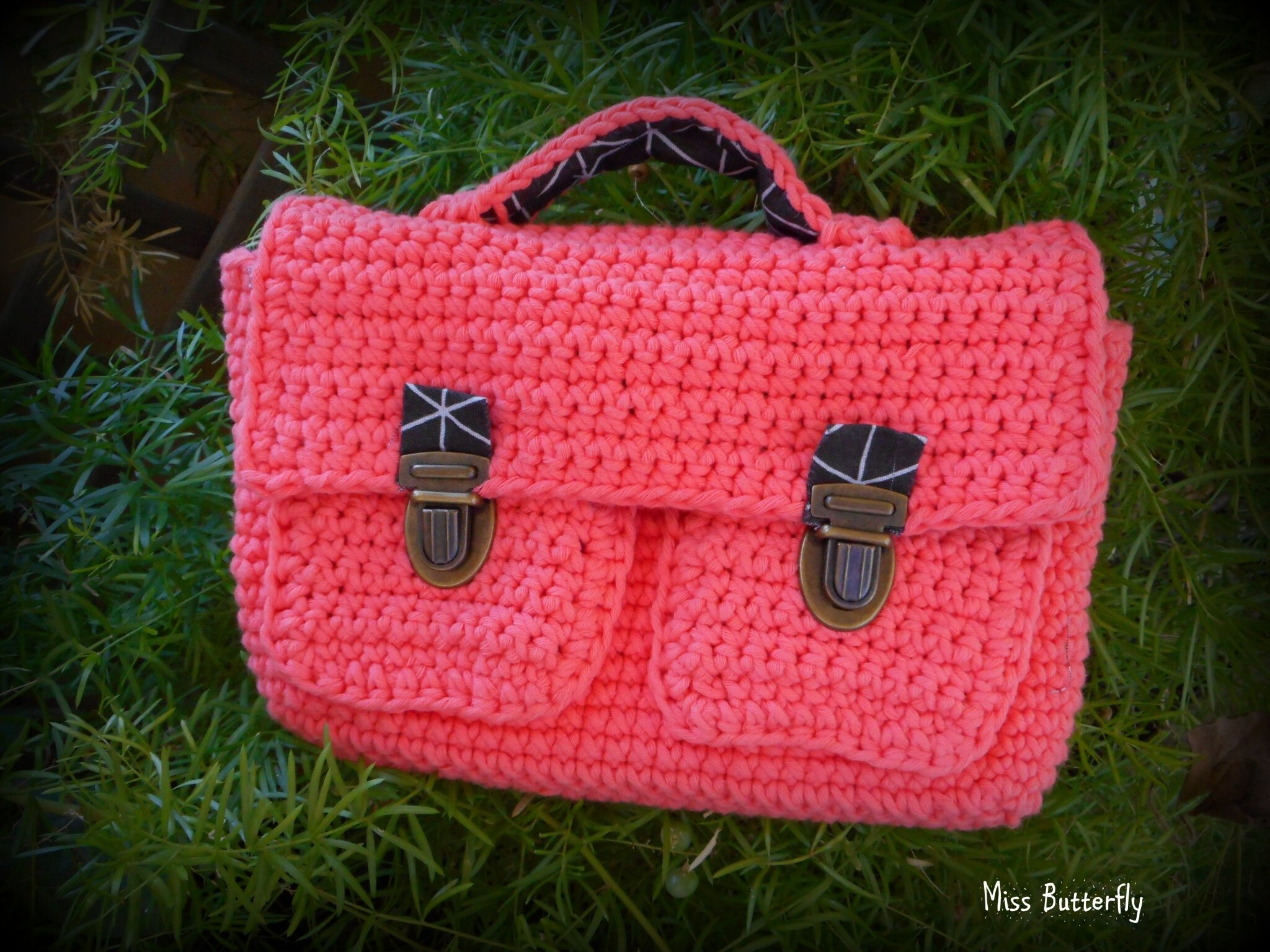 cartable au crochet