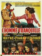 Affiche Film L'homme traquille John Ford