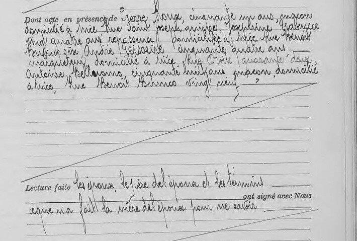 1914 le 13 août mariage à Nice Céline Le Queffellec_4
