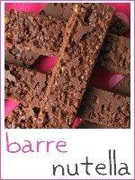 barres crunchy au nutella - index