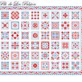 Choix SAL Petits carrés avec frise bordée2signé visuel PM