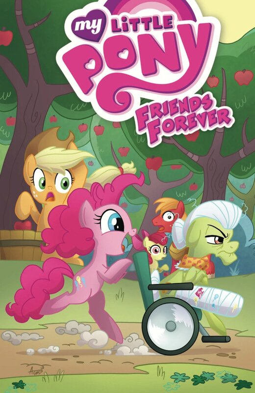 IDW my little pony friends forever vol 7 TP