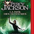 Percy jackson, t2 : la mer des monstres, de rick riordan (livre audio)