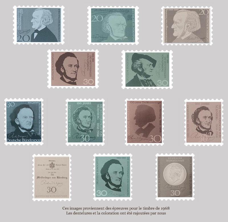 timbres épreuves