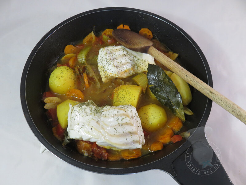 Ragoût de poisson à l'aneth