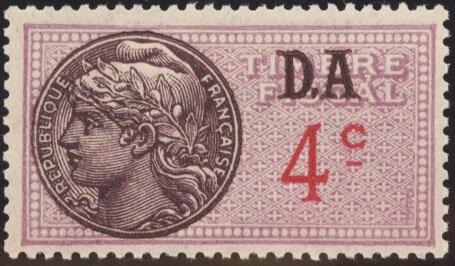 4 centimes DA