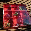 Boîte carrée de récupération