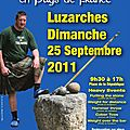 Six bressuirais aux highland games de luzarches