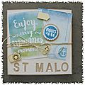 Kit de juin : mini album saint malo