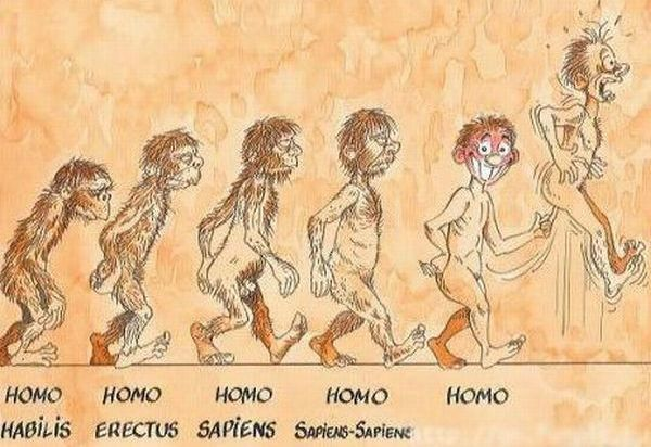 Evolutions de l'homme 05