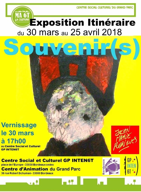 AFFICHE A4 EXPO SANS VERNISSAGE OK4