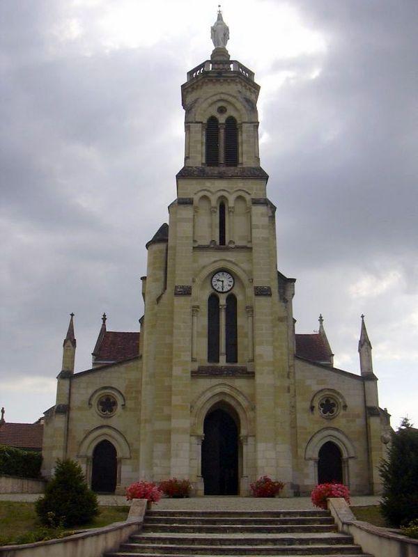 Sanctuaires Notre Dame de Maylis, l'église abbatiale