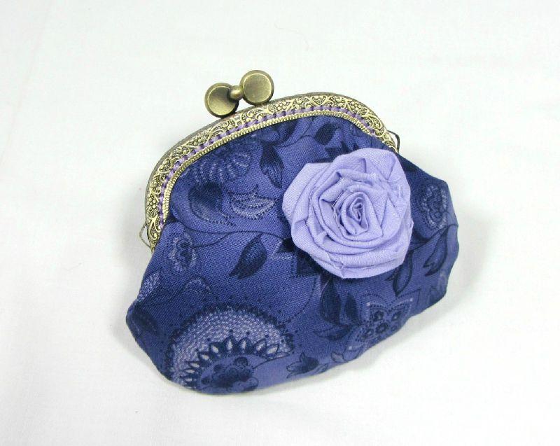 *Vendu* Porte monnaie rose lilas