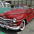 Plymouth special deluxe convertible 1946-1948