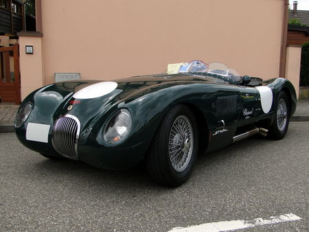 JAGUAR type C heritage 1961 Lipsheim Retro 2010 1