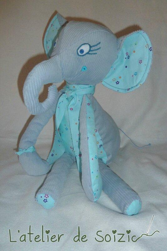 Lucie éléphante
