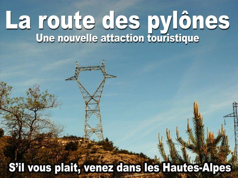 Route-pylones