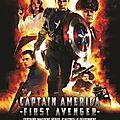 Captain america au cinéma le 17 août