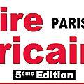 Annonce : 5ème edition de la foire africaine de paris