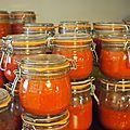 Sauce tomate de la mémé de pierre troisgros ou l'été en bocal
