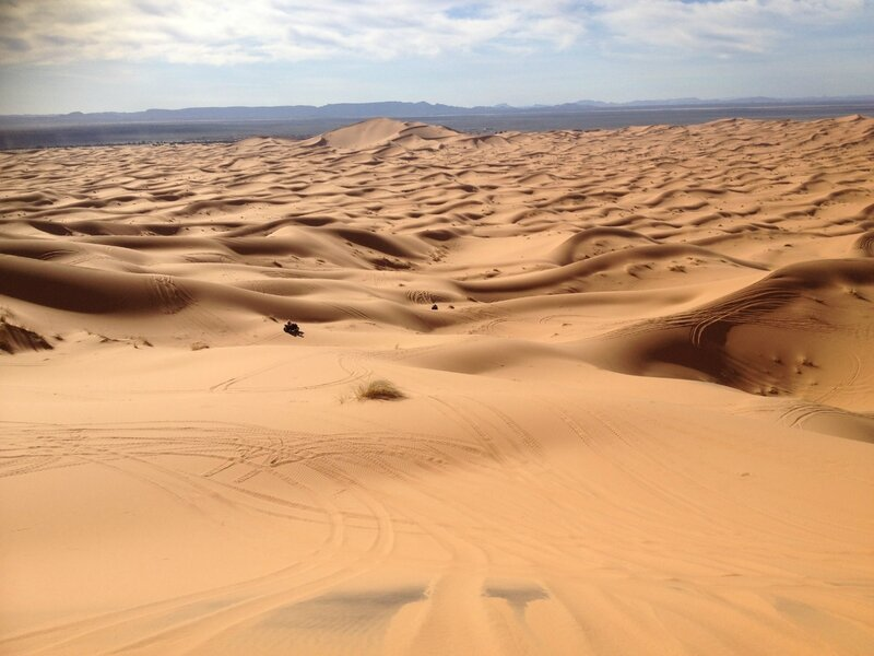 Le grand bac à sable de MERZOUGA