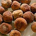 Boulettes d aubergines aux pignons de pin d'edda