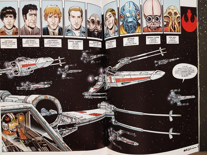 delcourt star wars x-wing rogue squadron intégrale 02 a