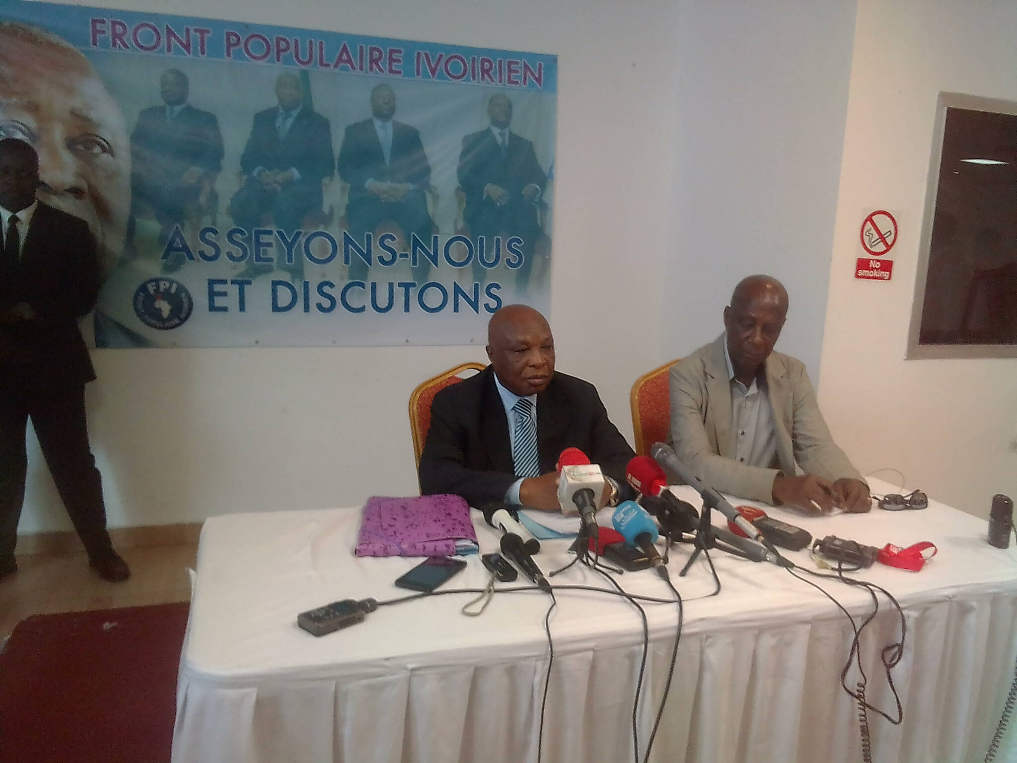 Les rencontres de Bruxelles,et de Daoukro, entre le FPI et le PDCI s'inscrivent parfaitement dans la recherche de la reconciliat
