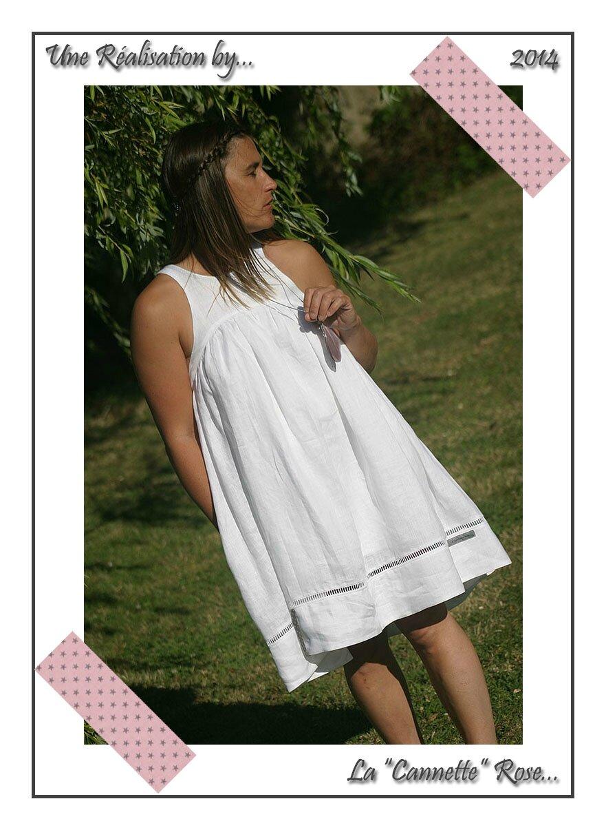 Robe Blanche Quartz GDM 01