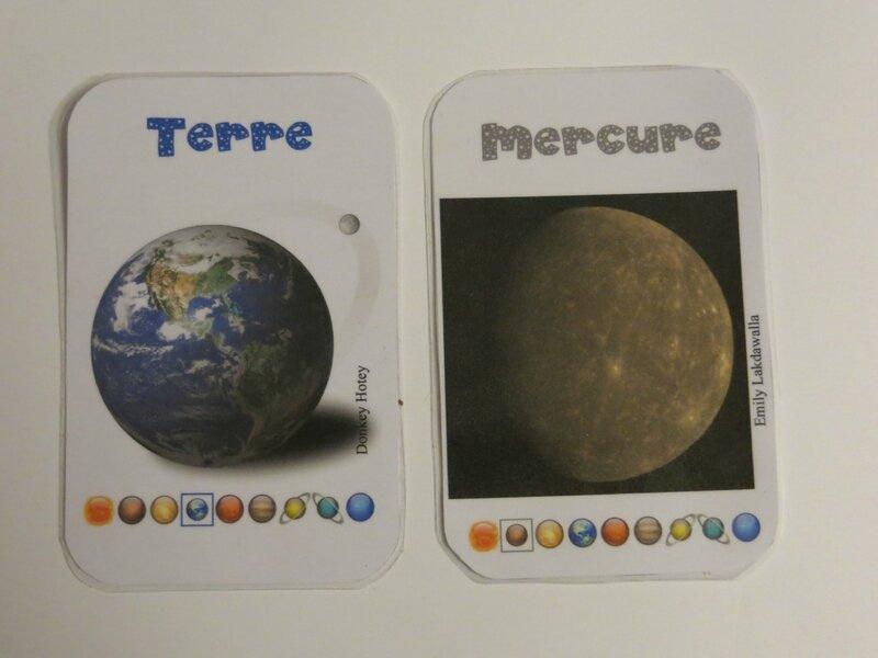 Terre et Mercure