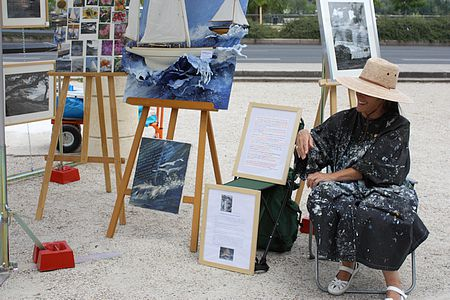 exposition photographies et peintures©Martine et Sylvie Segond