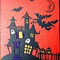 Carte 3d halloween